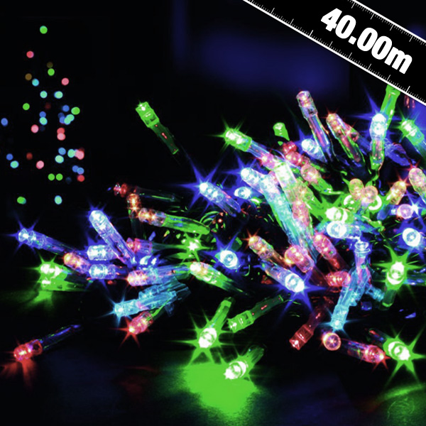 Outdoor String Lights With Timer : 400 B O Outdoor Timer Led String Lights - Party Supplies - Countyfetes