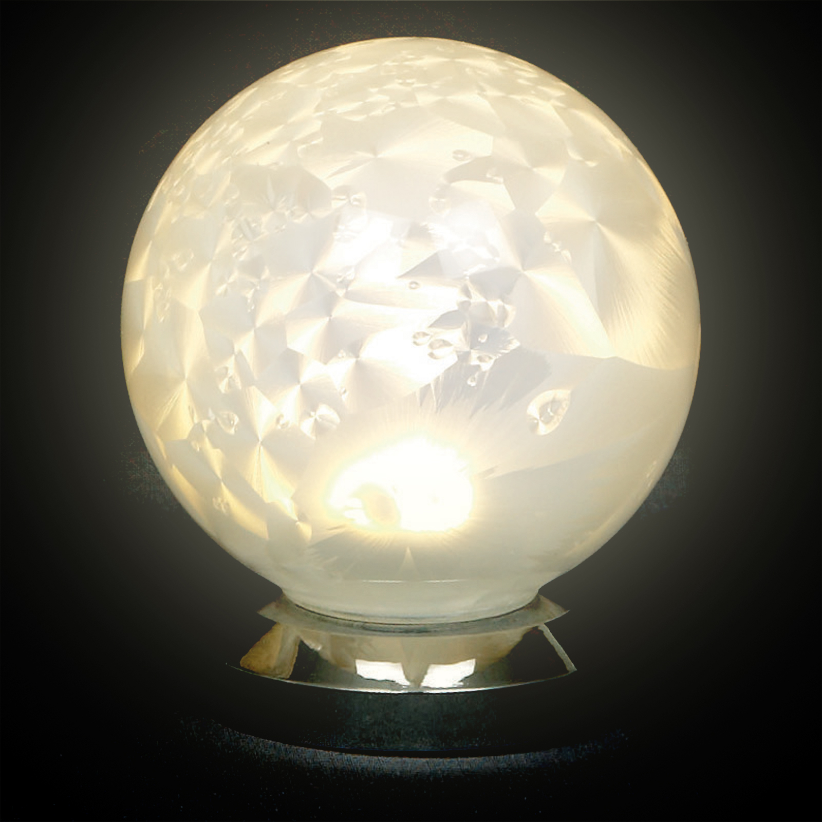 Image of 10cm White Glass Ball Light