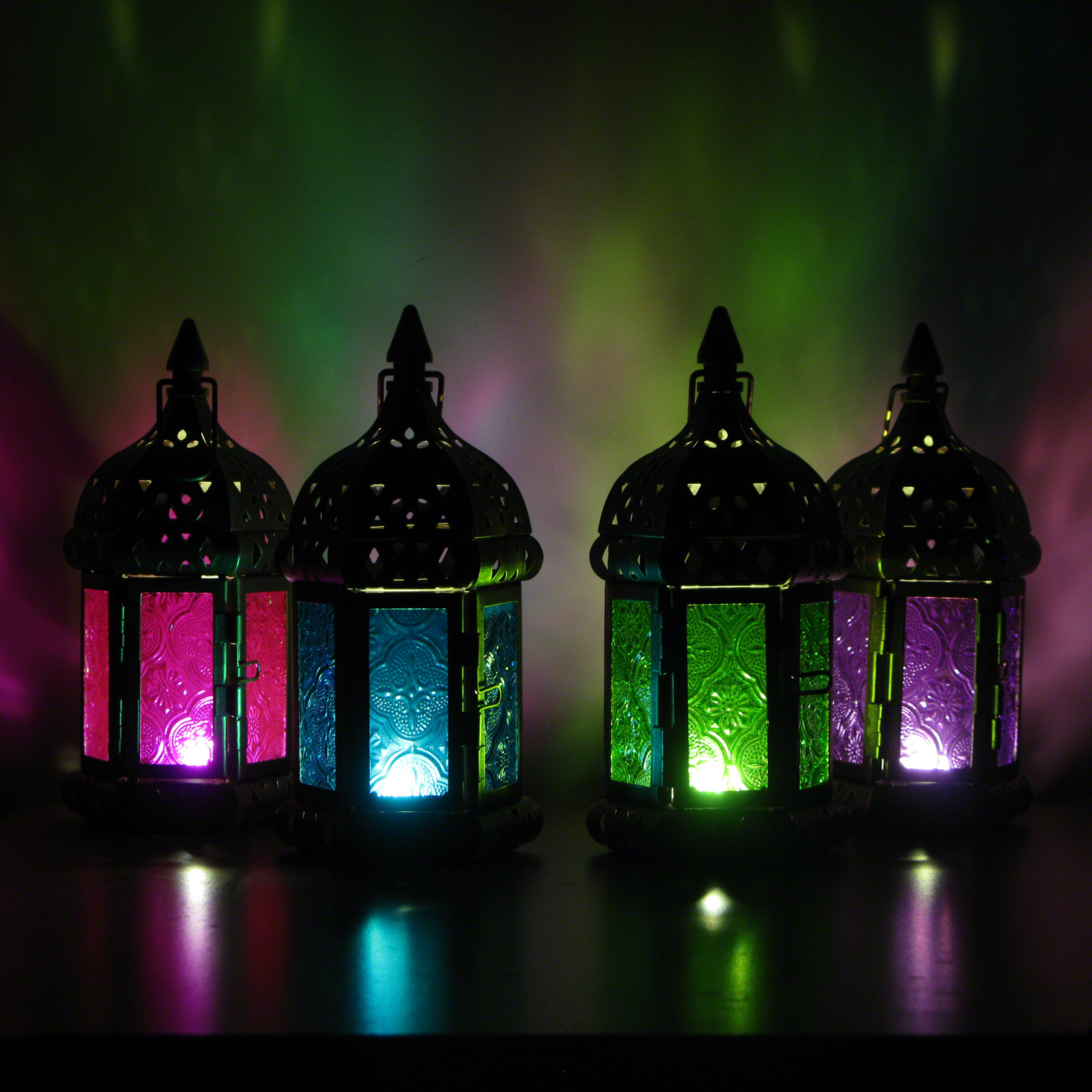 Click to view product details and reviews for 17cm Moroccan Lantern.