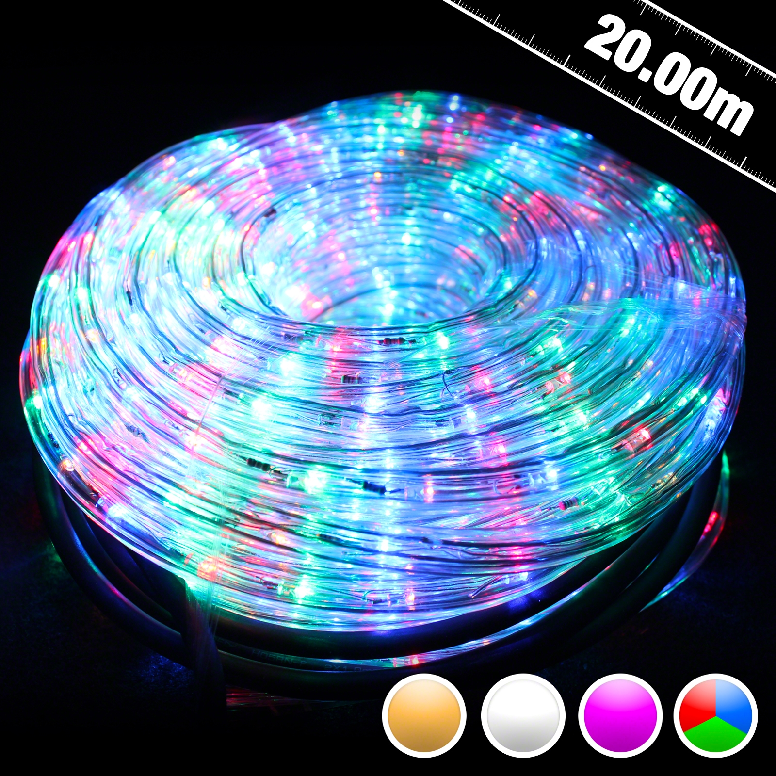 Click to view product details and reviews for 20m Led Rope Light.