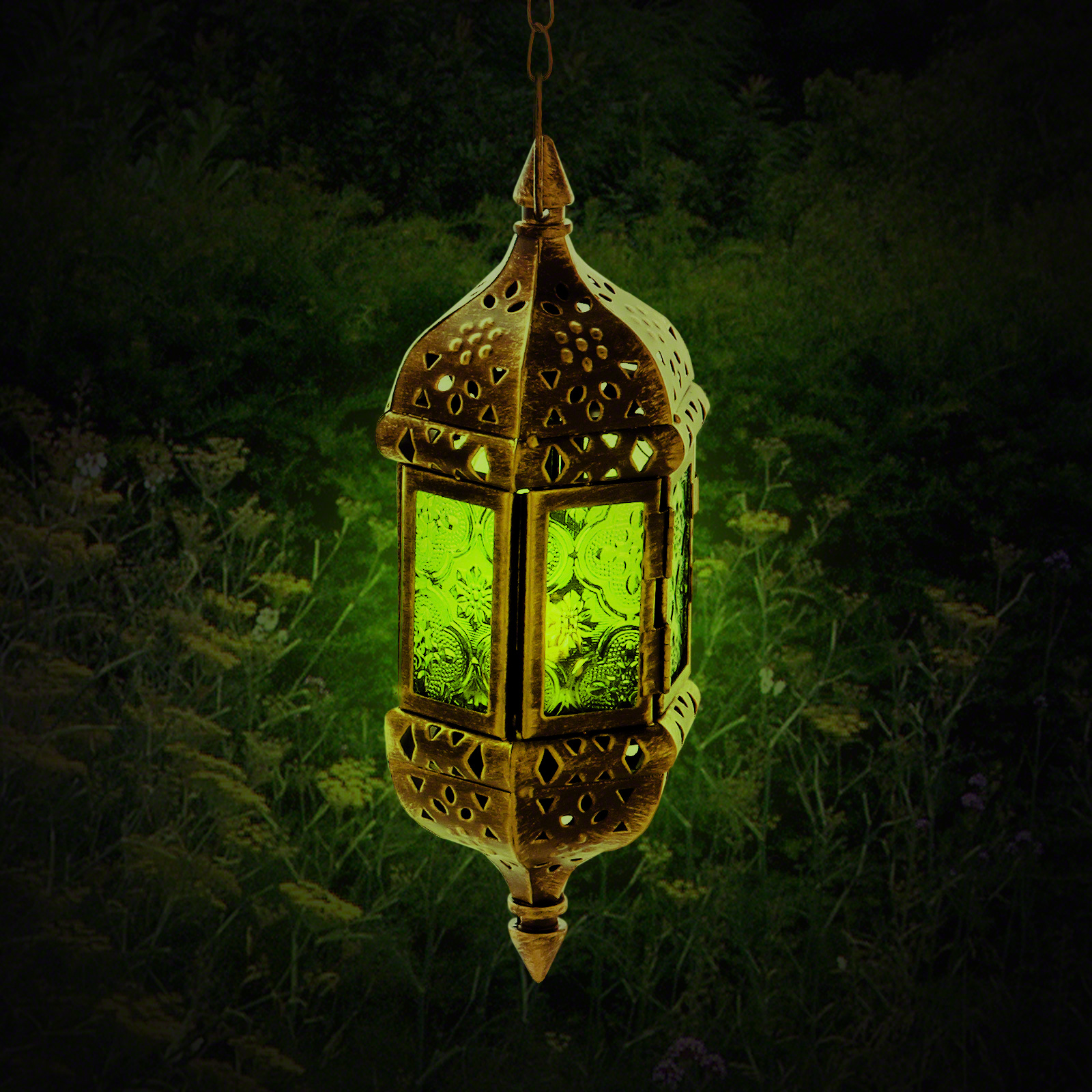 Click to view product details and reviews for 24cm Hanging Moroccan Lantern.