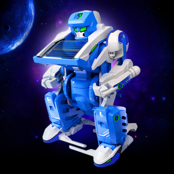 Image of Solar 3 In 1 Transformer Toy