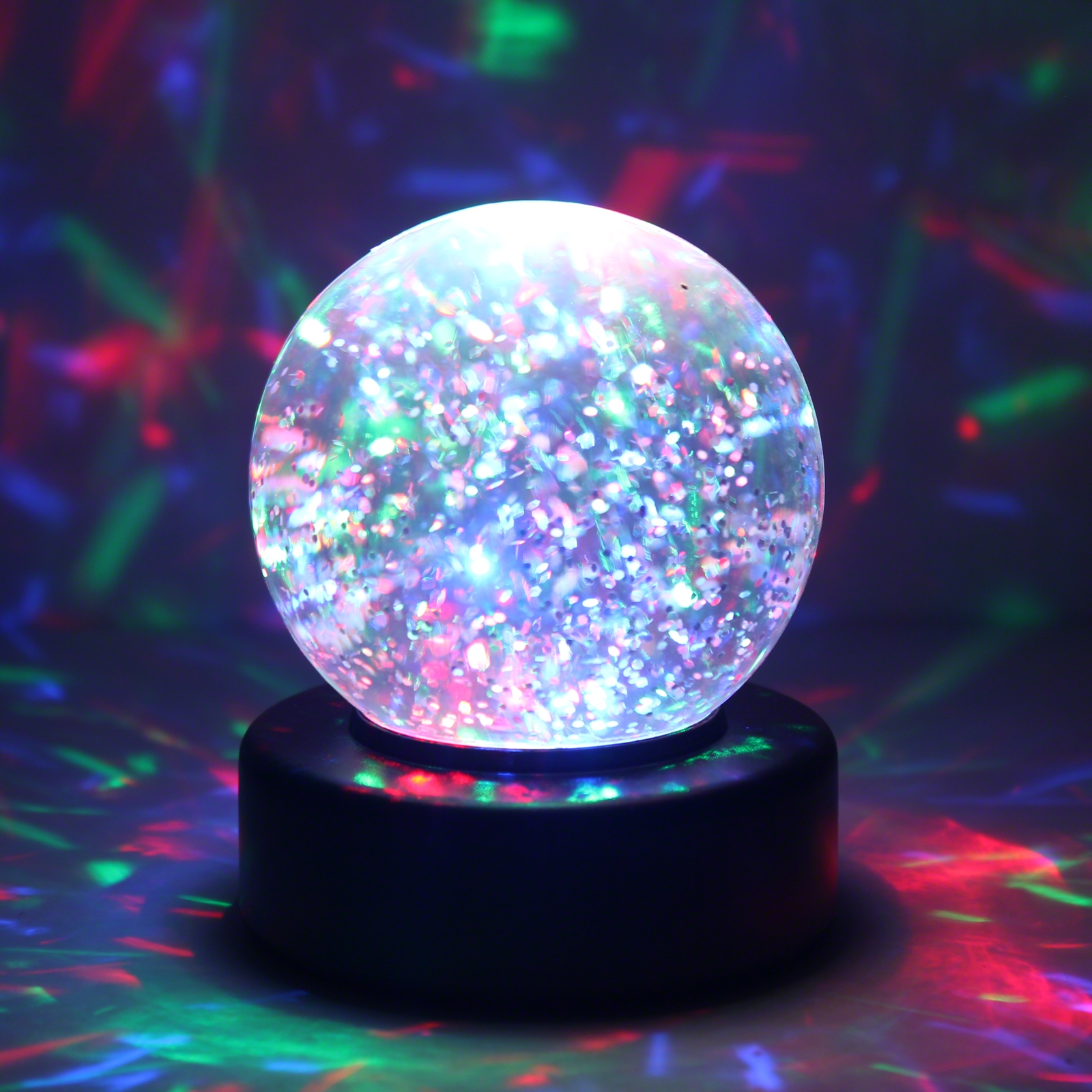 Click to view product details and reviews for 3 Light Up Glitter Ball.