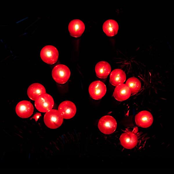 Red Cherry Lights Christmas Berry Mains Indoor Festive Fairy Lights Ebay