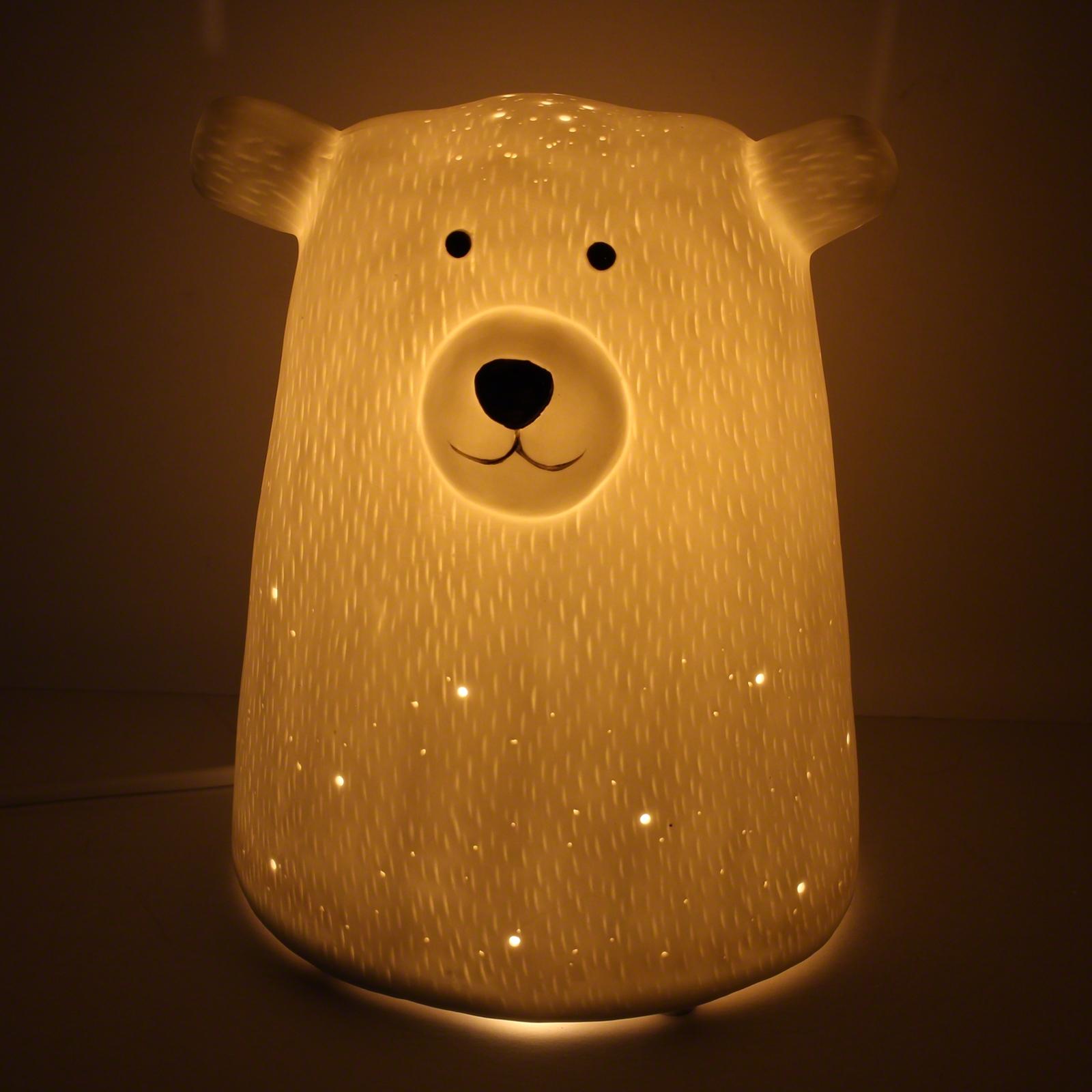 3d Ceramic Lamp Bear