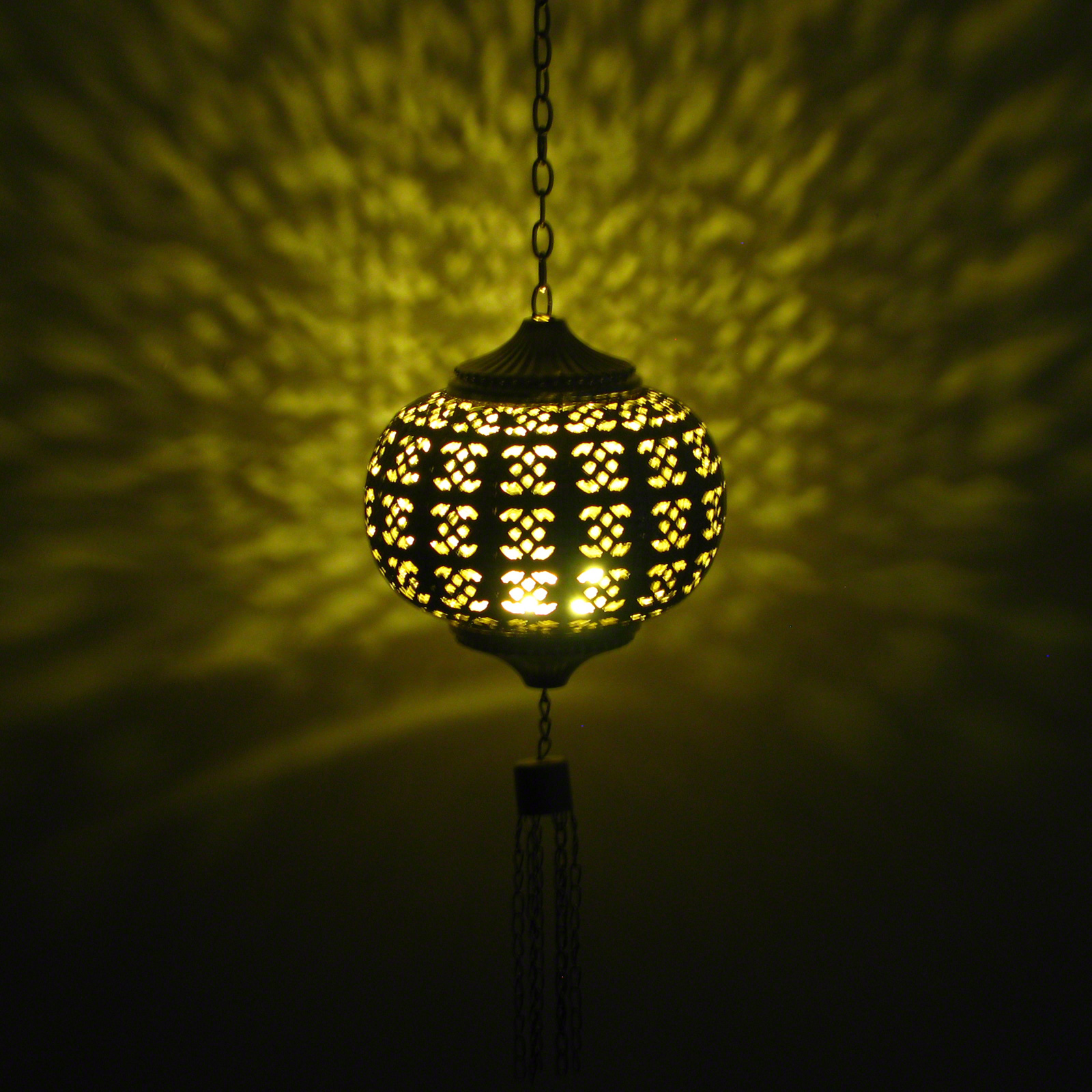 Click to view product details and reviews for Filigree Hanging Lantern.