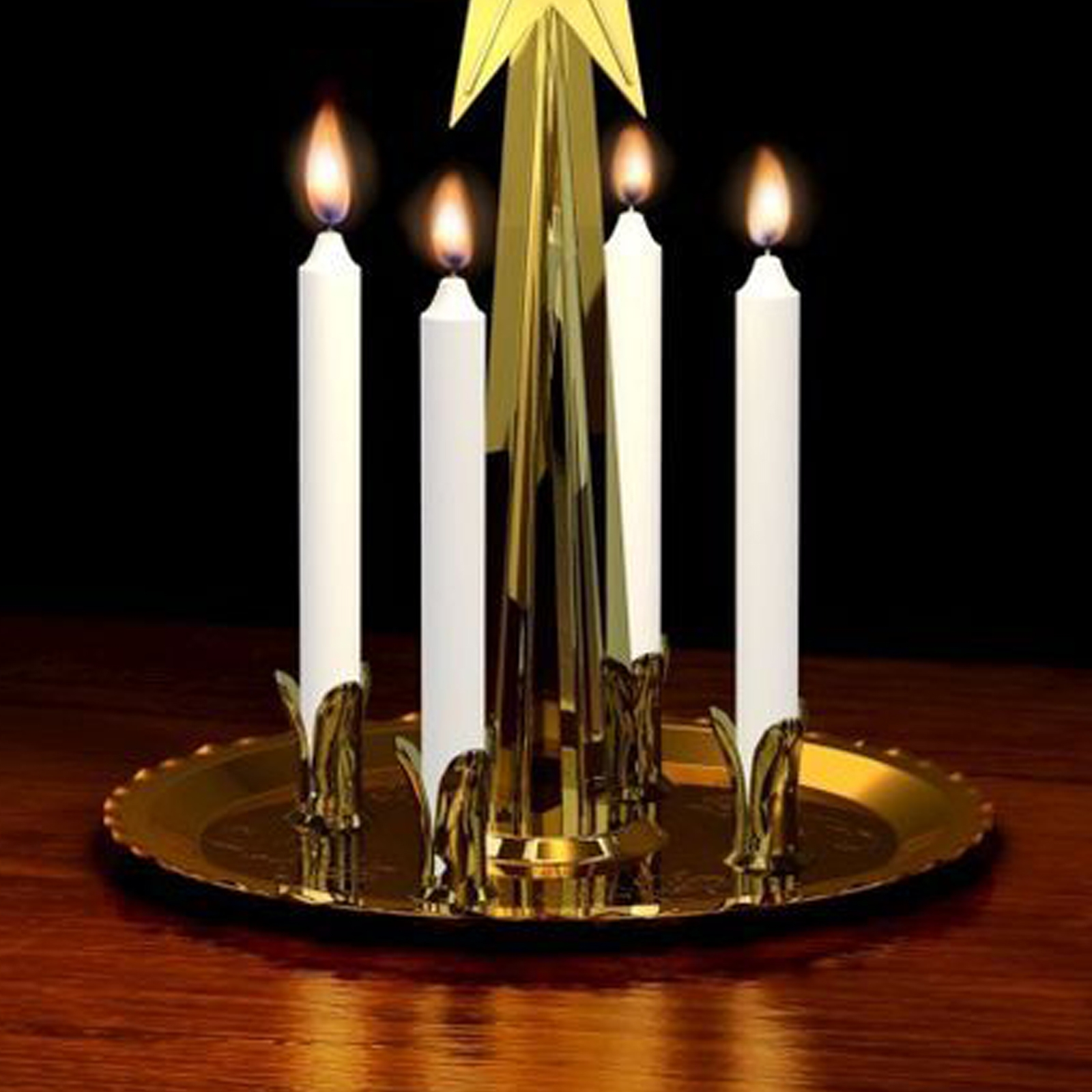 Angel Chimes Candles