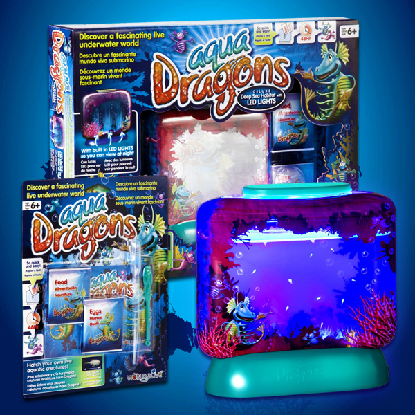 Click to view product details and reviews for Aqua Dragons With Led Lights.