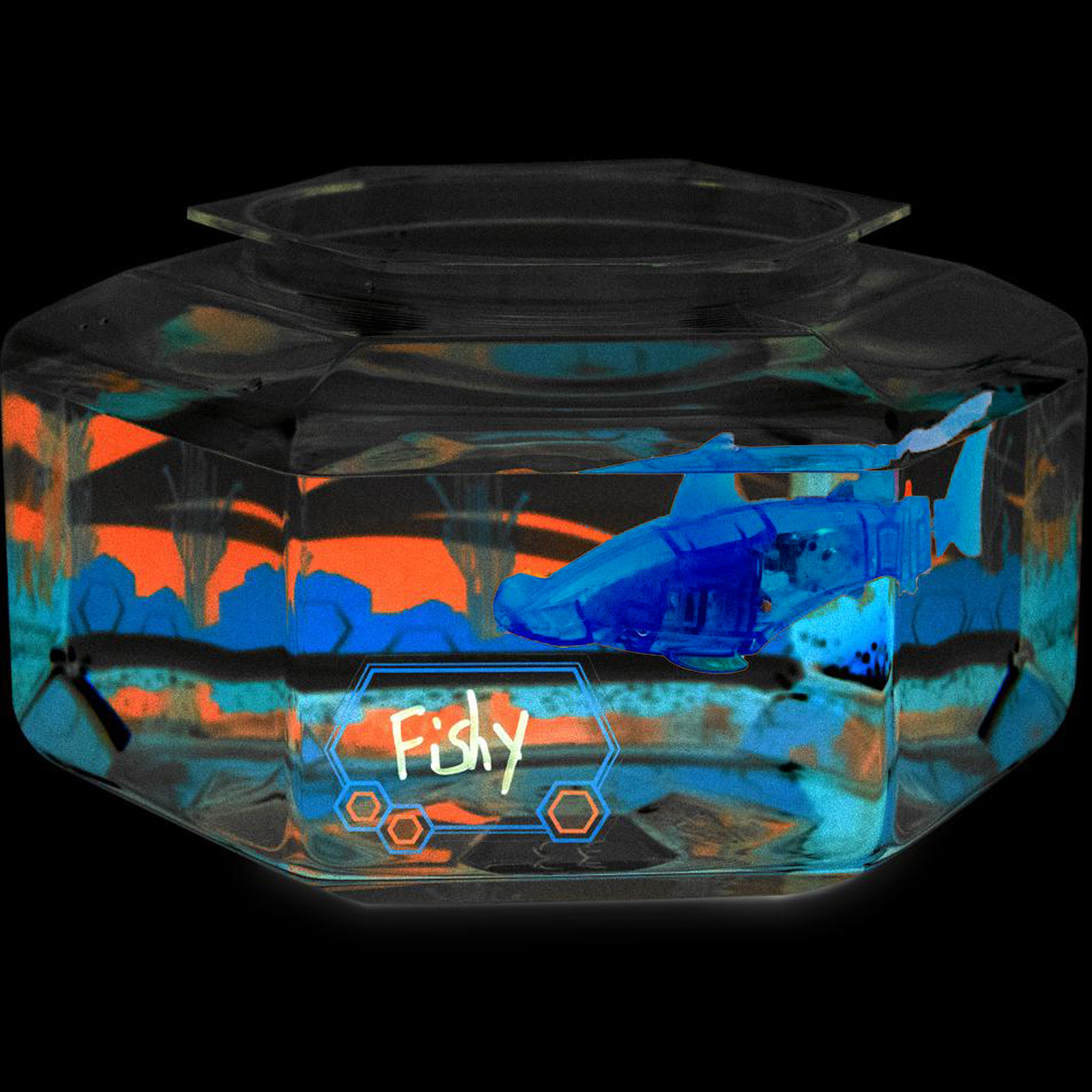 Click to view product details and reviews for Aquabot Bowl And Led Fish.