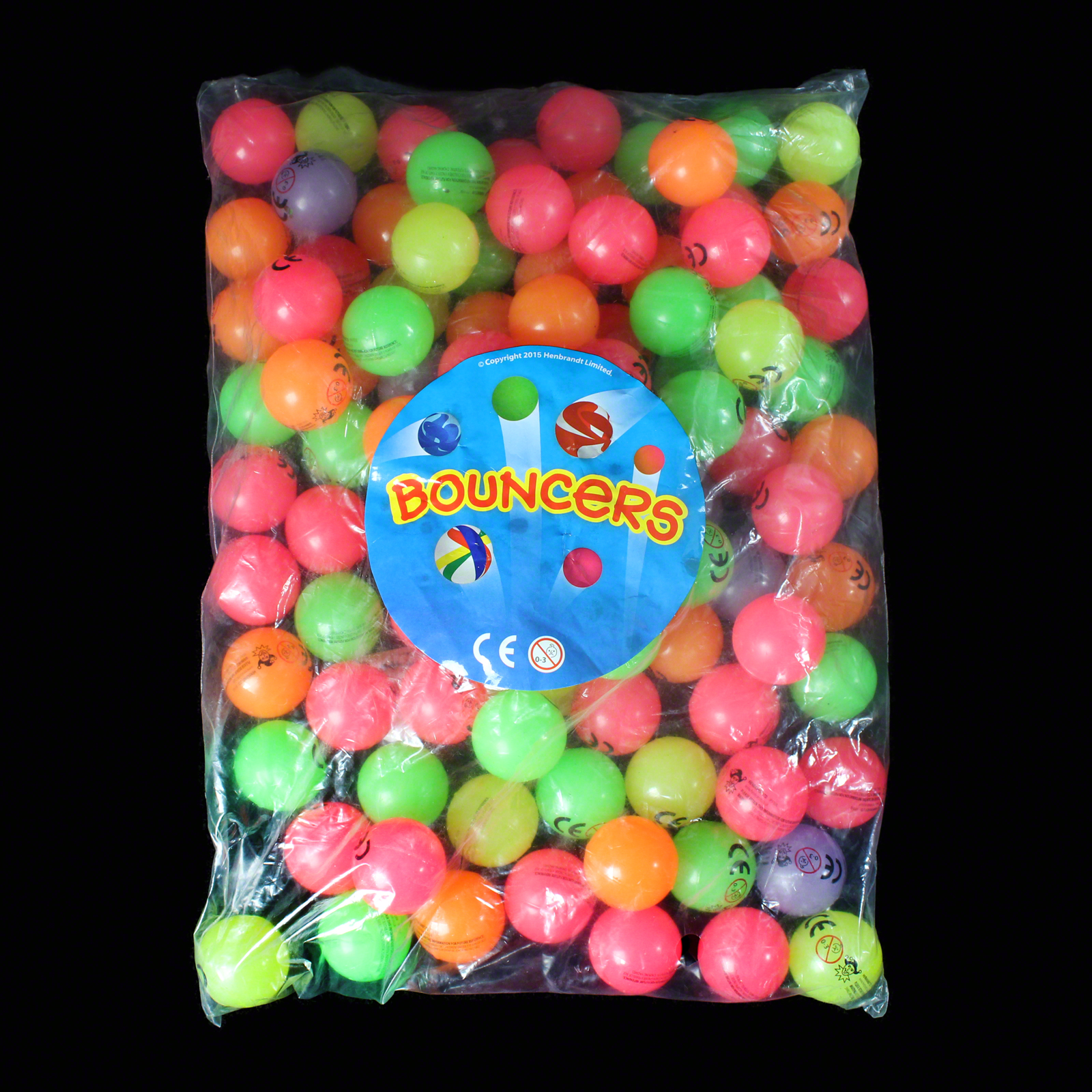 Click to view product details and reviews for Bag Of Glow Bouncy Balls 100 Pack.