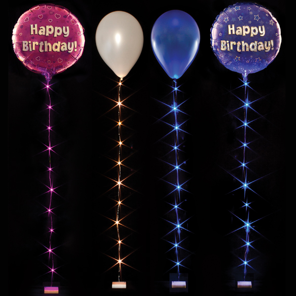 10 LED Balloon Lite - String Light Party Decoration eBay