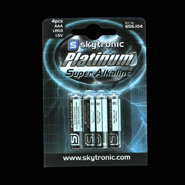 Image of Batteries AAA (4 pack)