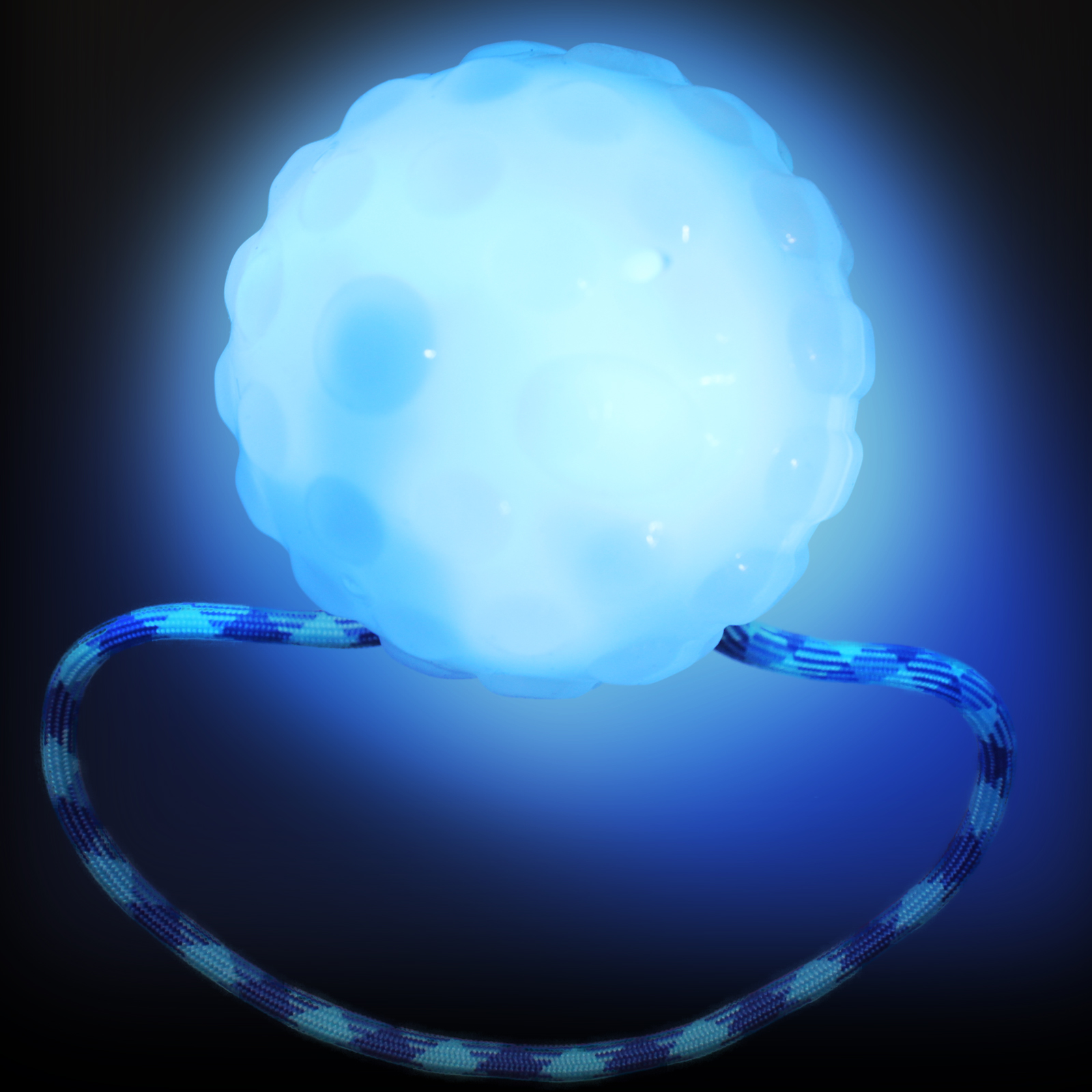 Click to view product details and reviews for Brite Rope Glow Ball Dog Toy.