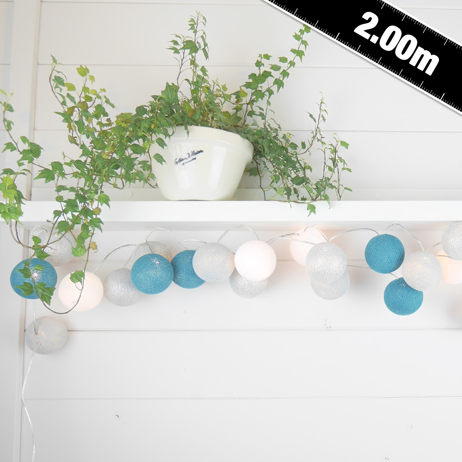 Click to view product details and reviews for Cable And Cotton Ice Fairy Lights 20 Led.
