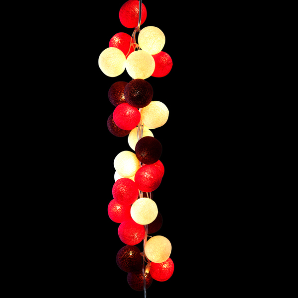 Cable & Cotton Cherry Pops Stringlights