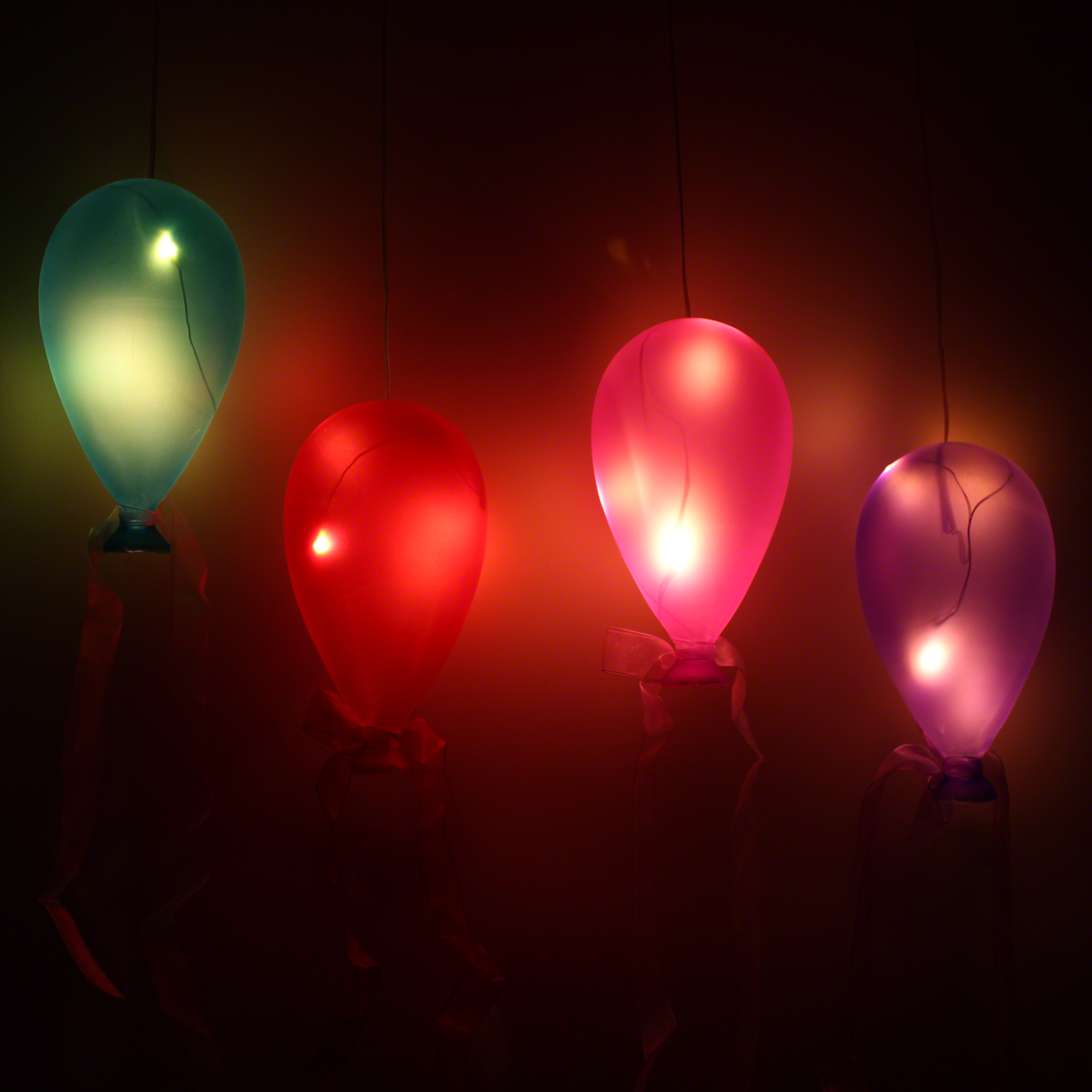 Click to view product details and reviews for Coloured Glass Hanging Balloon Light.