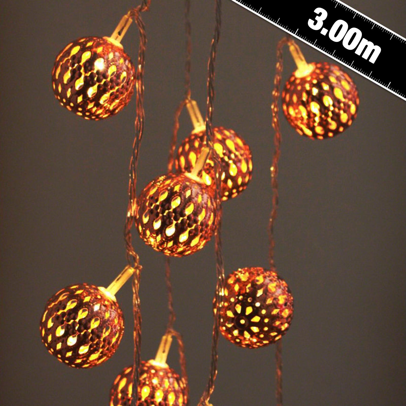 Copper Grande Maroq LED String Lights