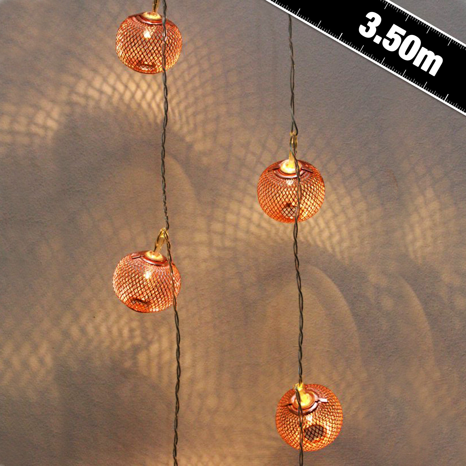 Click to view product details and reviews for 24 Led Copper Lantern Lights.
