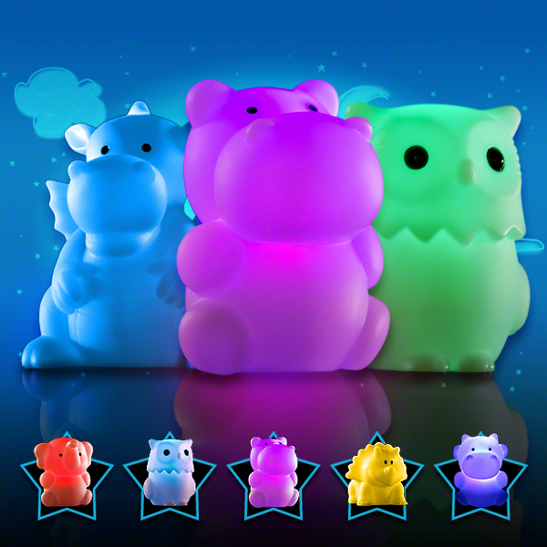 Click to view product details and reviews for Animal Cordless Nightlights.