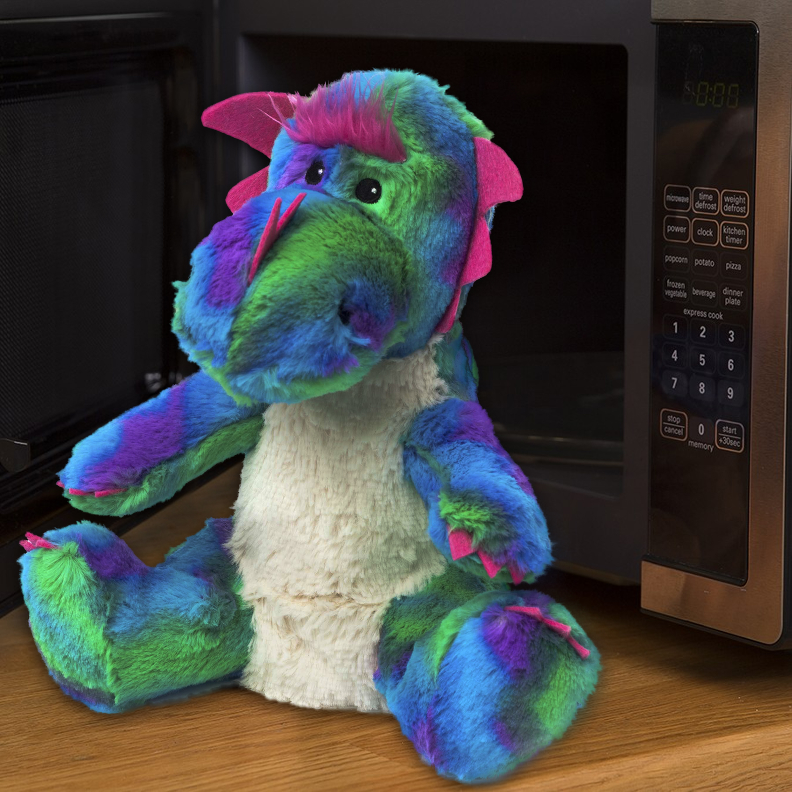 Click to view product details and reviews for Cozy Pet Microwave Rainbow Dragon.
