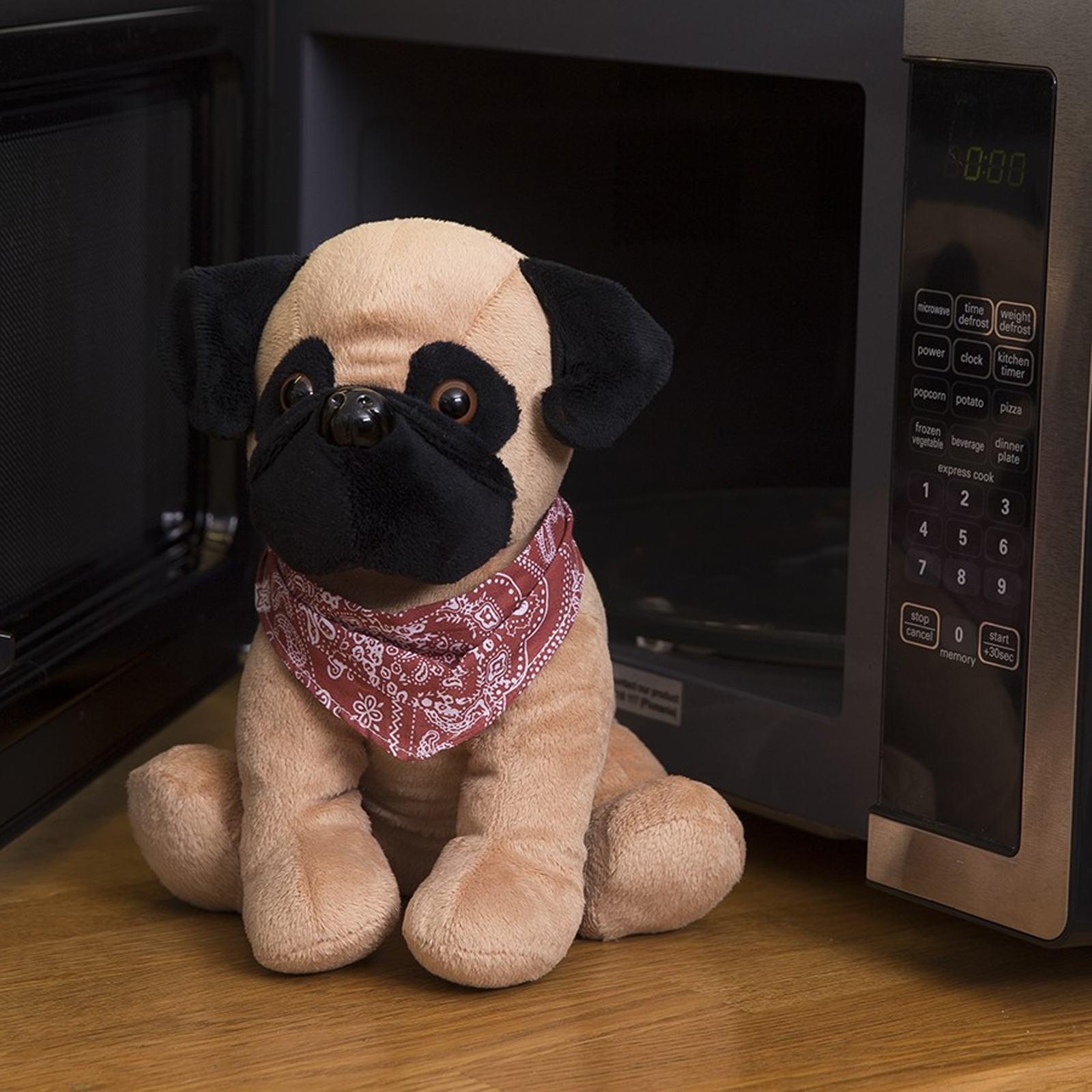Click to view product details and reviews for Cozy Pet Pugsy Microwave Pug.
