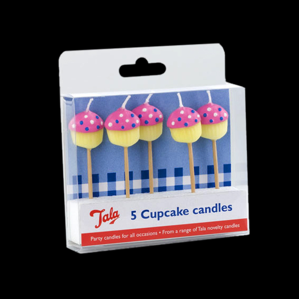 Cupcake Candles 5 Pack