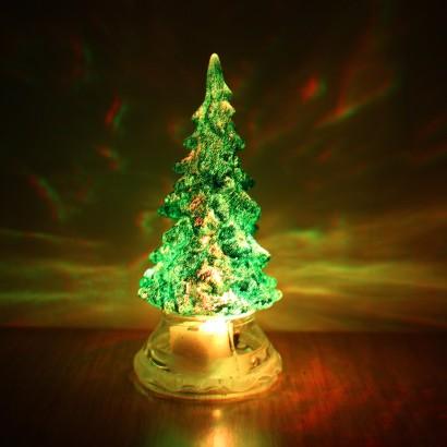 Miniature Colour Change Christmas Tree
