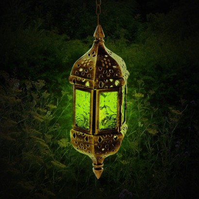 Moroccan styled hanging metal lantern for How to make a beautiful lantern