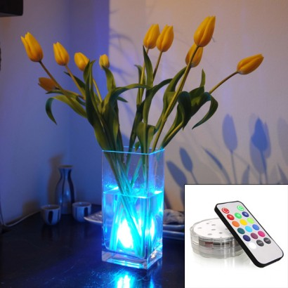 led mood lighting. a fully submersible remote controlled led mood light thatu0027s perfect for placing in vases aquariums or even pool bath read more led lighting