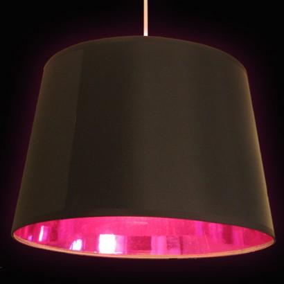 Black Amp Pink Lamp Shade