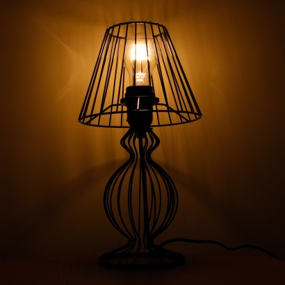 Wire table lamp shade choice image wiring table and diagram vintage black wire table lamp black wire lamp w globe e27 40w bulb sold separately keyboard keyboard keysfo Choice Image