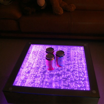 Delightful Enjoy The Soothing Effects Of Endless Bubbles And Colour Change Light With  The Practicality Of A Coffee Table.... Read More.