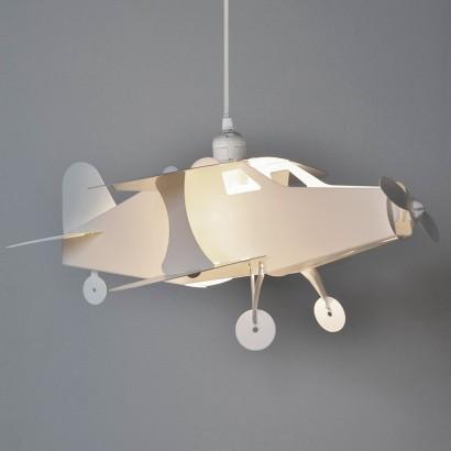 Kids Aeroplane Pendant Light Shade