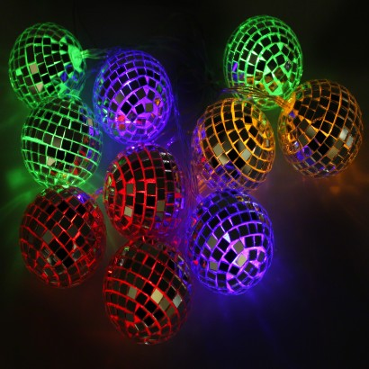 Childrens String Lights - Childrens disco lights bedroom