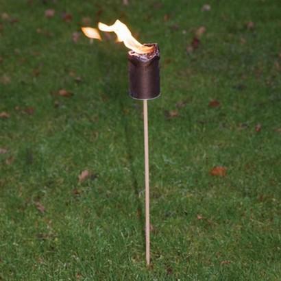 Delightful Fire Pot Garden Torch