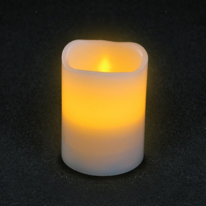 Flickering LED Timer Candles - 10cm