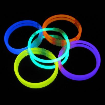 Glow Bracelets glowing