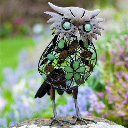Glow in the Dark Decorative Garden Owl