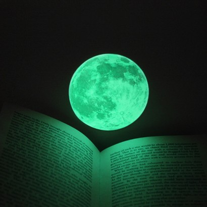 Created Using Real Astrophotographic Images Of The Moon, This Glow In The  Dark Moon Sticker Is Ideal For Decorating Childrenu0027s Rooms And Made From  Long Glow ... Part 96