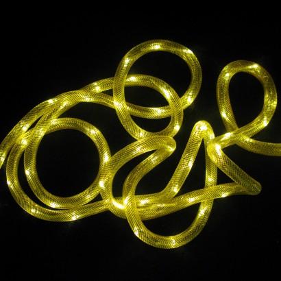 Mesh LED Rope Light. Gold