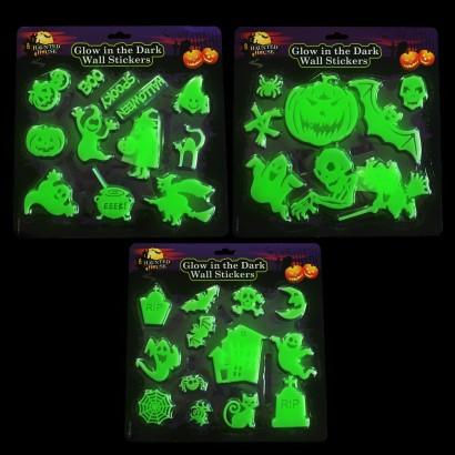 Halloween Glow In The Dark Wall Stickers (Single)