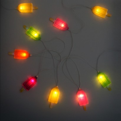 indoor string lights ice lollies string lights