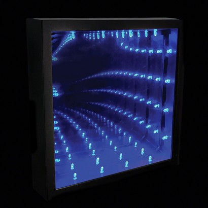 infinity light box. infinity light box