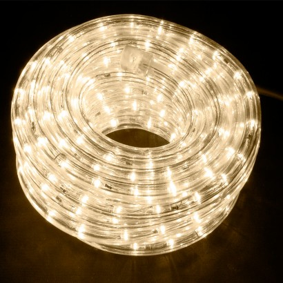 Half String Led Lights Out : 10m Warm White LED Rope Light