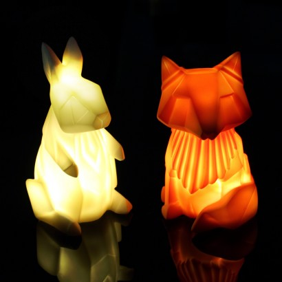 Mini Origami Woodland Animal Lights