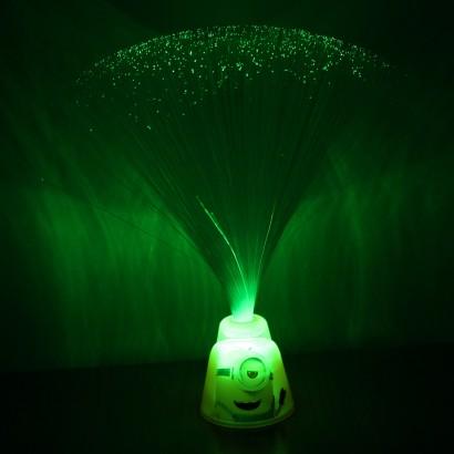 Minion fibre optic light