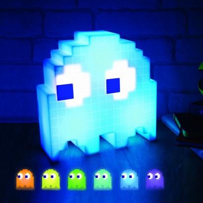 Pixelated Pac Man Ghost Light