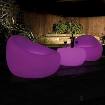 LED Tub Chair