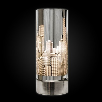 Skyline Satin Nickel Touch Lamp
