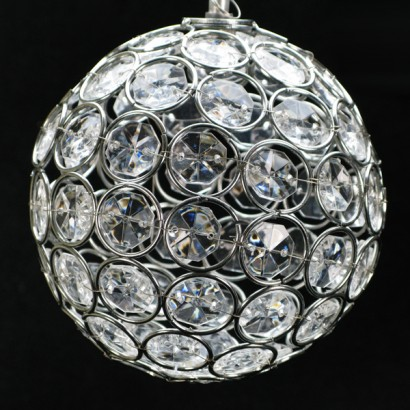 Solar crystal ball light
